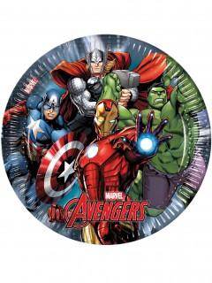Avengers™-Partyteller 8 Stück 23cm