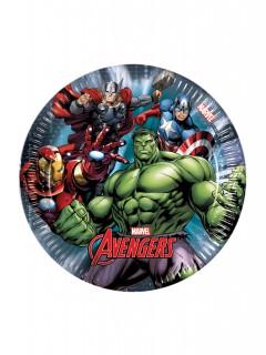 Avengers™-Partyteller 8 Stück 19,5cm
