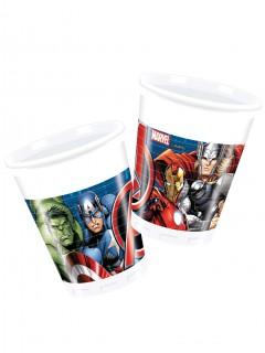 8 Avengers Becher - mehrfarbig
