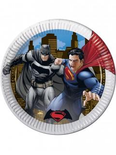Batman vs Superman™-Partyteller 8 Stück 23cm
