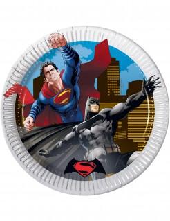 Batman vs Superman™-Partyteller 8 Stück 19,5cm
