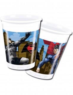 Batman vs Superman™ Becher 8 Stück bunt 200ml