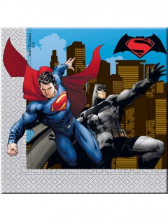 Batman Vs Superman™ Partyservietten Lizenzware 20 stück bunt 33x33cm