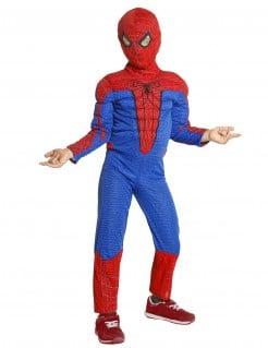 Spiderman-Kinderkostüm Lizenzkostüm rot-blau