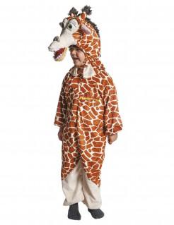 Melman™ Giraffen Kinderkostüm Madagascar™ Lizenzartikel braun-beige