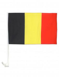 Belgien-Fahne Belgische Autoflagge schwarz-gelb-rot 30x46cm