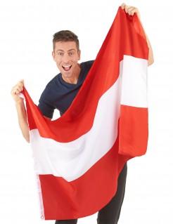 Österreich-Flagge Fanartikel rot-weiss 90x150cm