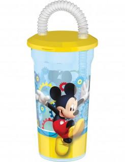 Mickie Maus™-Becher mit Trinkhalm 450ml