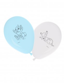 Disney Baby™ Luftballons Partydeko Lizenzware 8 Stück blau-weiss