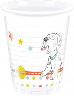 Disney Baby™ 101 Dalmatiner™ Partybecher Kindergeburtstag Lizenzware 8 Stück bunt 200ml