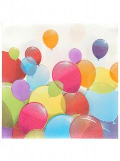Luftballon-Servietten 20 Stück