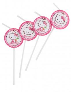 Hello Kitty™-Trinkhalme 6 Stück