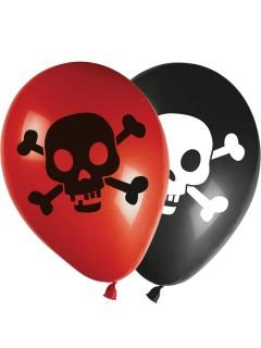 Schatzkarten-Luftballons 8 Stück