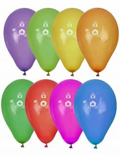 Prinzessinnen-Luftballons Ballons 8 Stück bunt