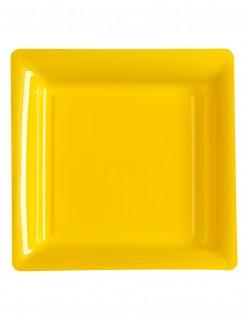 Partyteller 12 Stück gelb 23.5cm