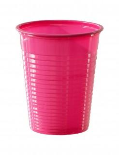 Trinkbecher Partybecher 50 Stück pink 200ml