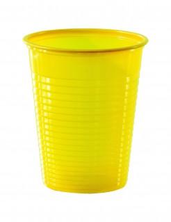 Trinkbecher Partybecher 50 Stück gelb 200ml
