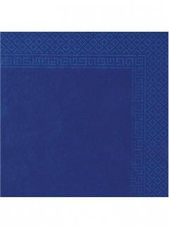 Papierservietten Party-Zubehör 50 Stück blau 38x38cm