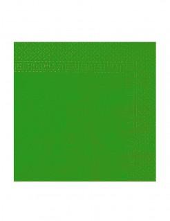 Papierservietten Party-Zubehör 50 Stück grün 38x38cm