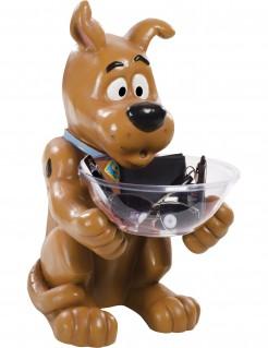 Scooby-Doo Figur mit Bonbon-Schüssel braun