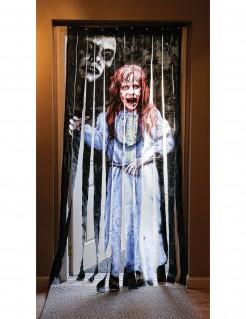 Der Exorzist Halloween-Türvorhang Lizenzware bunt 90x200cm