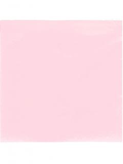 Papierservietten Party-Tischdeko 50 Stück pastellrosa 38 x 38cm