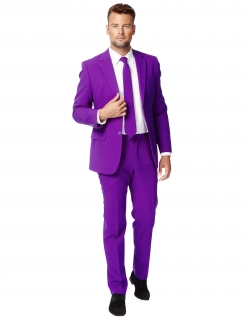 Opposuits™ Herren-Anzug Mr. Purple Prince pink