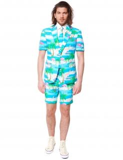 Opposuits™ Sommeranzug Tropicana blau