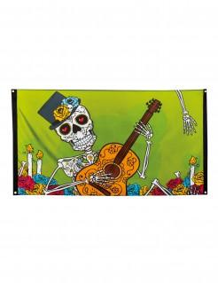 Dia de los Muertos Partybanner Halloween-Deko 90x150cm