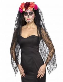 Dia de los Muertos Kopfschmuck für Damen bunt