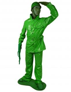 Spielzeugsoldat Kostüm grün
