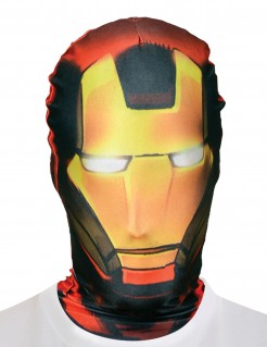 Marvel Ironman Morph Maske Lizenzware rot-schwarz