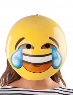 Maske Smiley lachend gelb