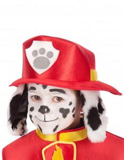 Feuerwehrhut mit Hundeohren für Kinder bunt