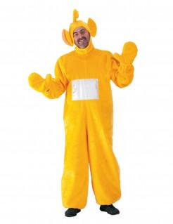Süße Fernsehfigur Kostüm für Erwachsene gelb