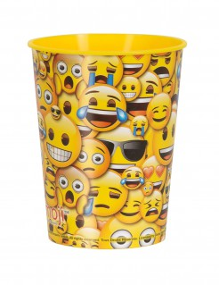 Trinkbecher Lizenzartikel Emojis bunt