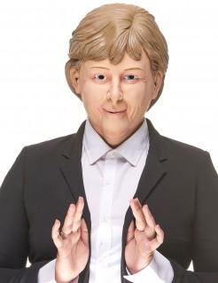Angela Maske Politikerin beige-blond