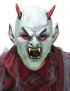 Maske Halloween Monster Teufel für Erwachsene bunt