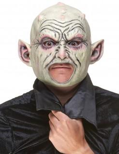 Gnom Latex Maske für Erwachsene bunt