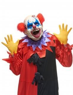 Verrückter Clown Halloween Maske bunt