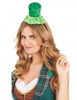 Kleeblatt Minihut St. Patrick's Day grün