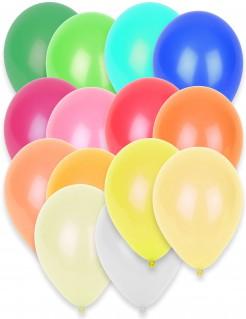 knallige Luftballons 50 Stück bunt