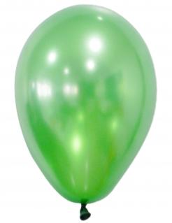 Luftballons metallic grün 50 Stück