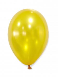 Metallic Luftballons Ballons Party-Deko 50 Stück gold 30cm