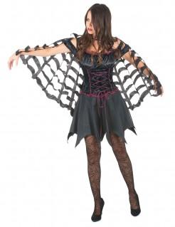Fledermaus-Umhang Vampirkostüm-Accessoire schwarz