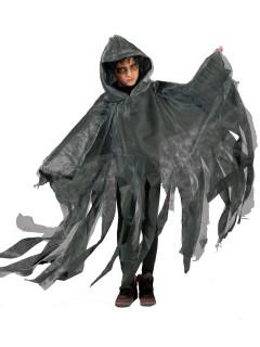 Halloween Geister Umhang für Kinder grau