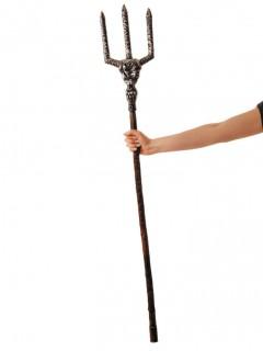 Edler Teufels Dreizack für Erwachsene braun-grau 122 cm
