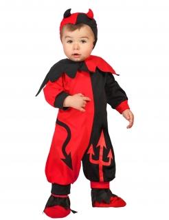 Süsser Teufel Babykostüm rot-schwarz