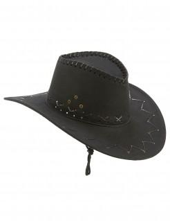 Cowboy Hut für Erwachsene schwarz
