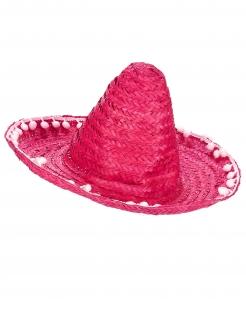 Sombrero Mexiko Hut pink